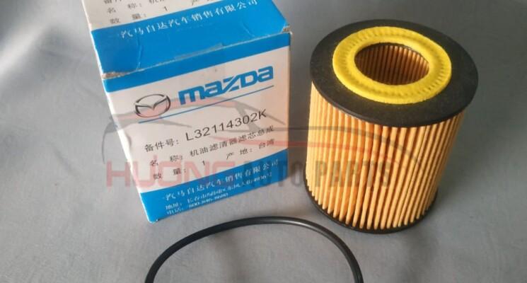 Lọc dầu giấy Mazda L32114302K