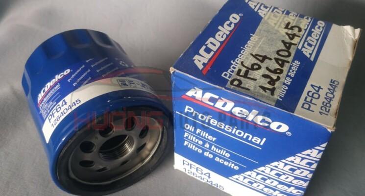 Lọc nhớt sắt Chevrolet PF64 12610445